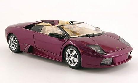 Lamborghini Murcielago Roadster Met Lila Modelo De Auto Modello