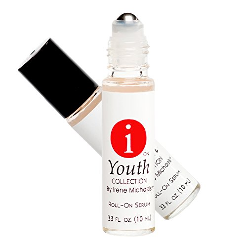 Anti-Aging Roll-on Skincare Serum for Face - Hyaluronic Acid Moisturizes and Brightens to Minimize Wrinkles and Age Spots for Youthful, Radiant Appearance (.33 oz)