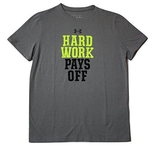 Under Armour Boys Hard Work Pays Off HeatGear Loose Fit T-Shirt