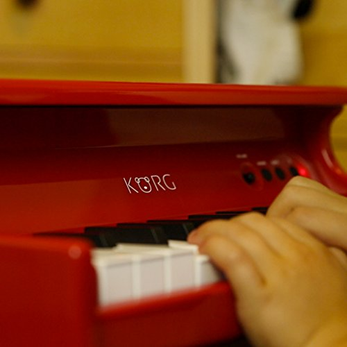Korg tinyPiano Digital Toy Piano - Red by Korg (Image #10)