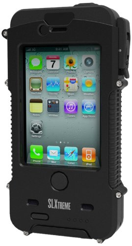 Snow Lizard SLXtreme Case for iPhone 4 and 4S, Black Night by Otis Technology (Image #1)