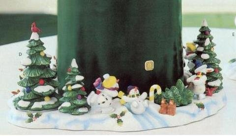 Partylite Snowbell 3-wick candle - Wick Partylite 3 Candles