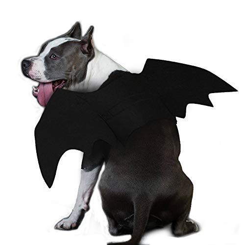Ehdching Cat Costume Halloween Pet Bat Wings Cat Dog Bat -