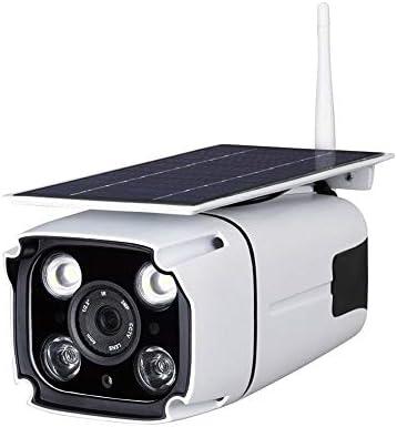iBaste WiFi Inalámbrico Cámara Solar Seguridad Cámara de Red Inducción al Aire Libre IP67 a Prueba de Agua
