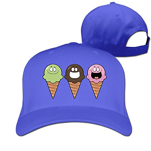 Lawn Clipart (FASN Funny Ice Cream Clipart Peaked Baseball Cap With RoyalBlue)