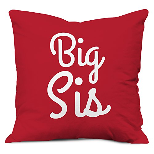 indibni Sister Gifts - Big Sis Quote Red 16
