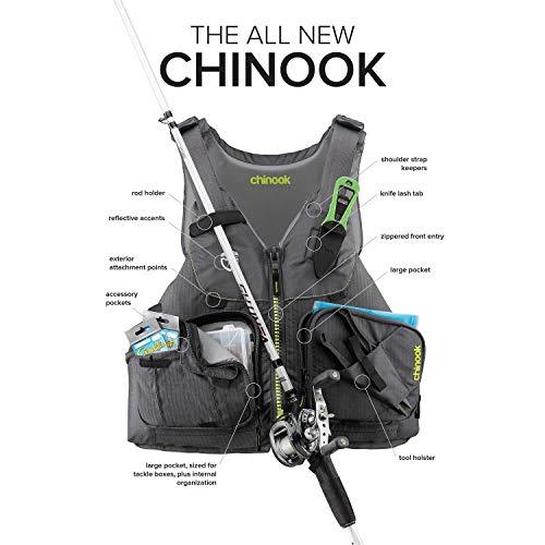 Nrs Chinook Fishing Pfd Life Jacket
