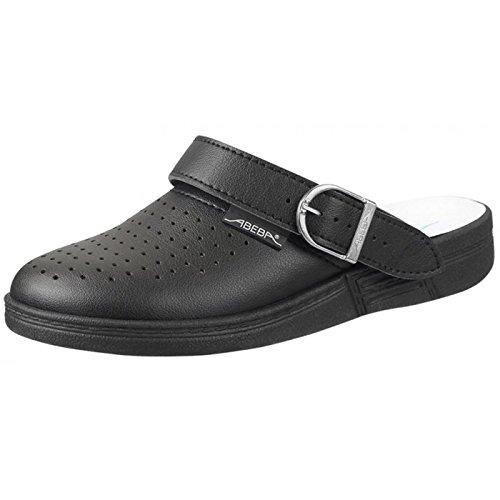 Abeba 77030-41 The Original Chaussure Sabot Taille 41 Noir