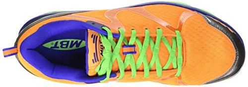 Mbt Mannen Simba 5 Hall Schoenen, Blauw, Oranje Eu 16 (blauw / Arancione)