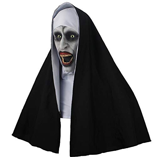 Scary Nun Costumes - The Nun Valak Horror Props Scary