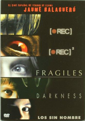 (Jaume Balagueró Collection - 5-DVD Box Set ( [Rec] / [Rec] 2 (Rec Two) / Frágiles (Fragile: A Ghost Story) / Darkness / Los sin nombre (Els sense nom) ) ( [ NON-USA FORMAT, PAL, Reg.2 Import - Spain ])