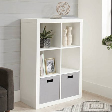 Better Homes and Gardens 6-Cube Organizer, White from Better Homes and Gardens..