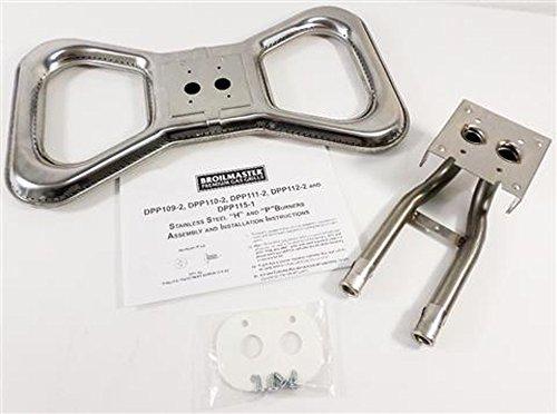 Stainless Steel Bowtie Burner Kit - (Broilmaster Burners Grill)