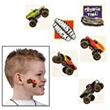 72 Monster Truck Temporary Tattoos