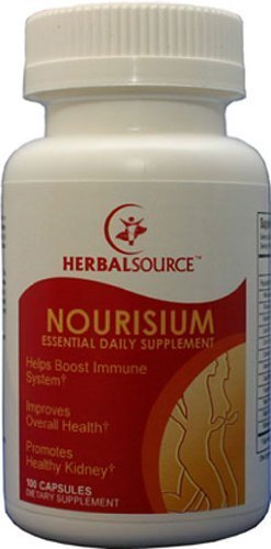 Nourisium - Essential Daily Supplement ! Promote Healthy Kidney, Immune Booster, 120 ()