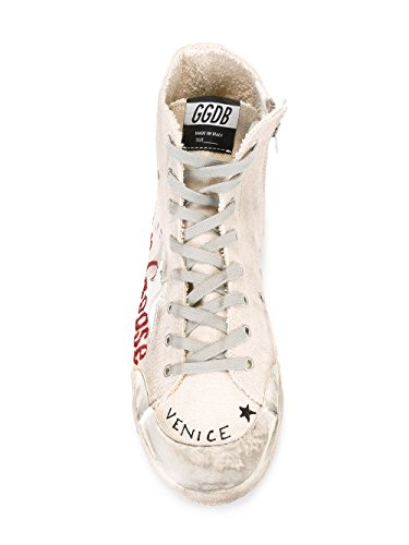 GOLDEN GOOSE HOMME G30MS591A57 MULTICOLORE TISSU BASKETS MONTANTES