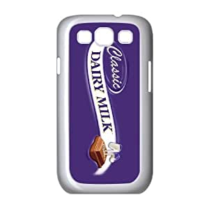 Samsung Galaxy S3 9300 Cell Phone Case White Dairy Milk 002 Delicate gift JIS_272513