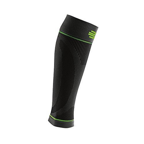 Bauerfeind Sports Compression Lower Leg Calf Sleeves (1 Pair) (Black, Medium/Short) by Bauerfeind