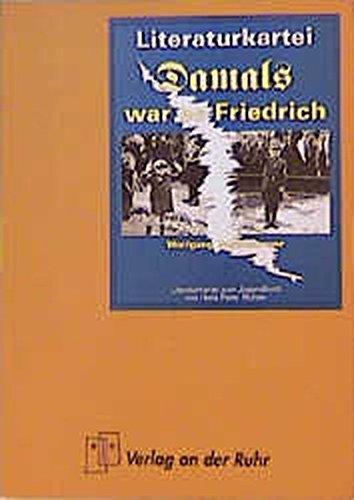 Literatur-Kartei. Damals war es Friedrich