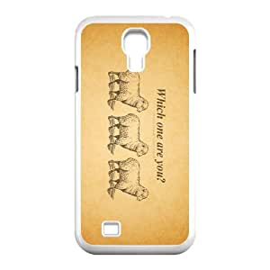 which one are you 1920 164104 Samsung Galaxy S4 9500 Cell Phone Case White custom made pgy007-9005740