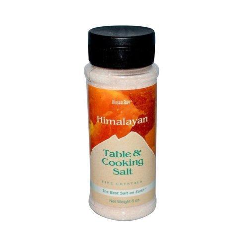 Himalayan Table and Cooking Fine Crystal Salt 6 OZ by Aloha Bay