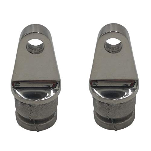 Inside Eye End Fitting - tingao 2PCS Fitting Stainless Steel Boat Bimini Top Inside Eye end 7/8 Rounded Hardware