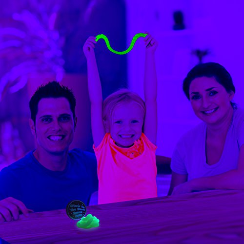 Kobra Exercise Putty Glow in Dark Clear Slime Therapy for Stress Adults and Kids - Hours of Fun! by KOBRA Products (Image #5)