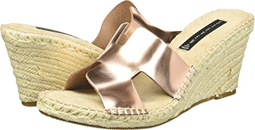 - STEVEN by Steve Madden Women's Eryk Wedge Sandal, Rose Gold, 7.5 M US