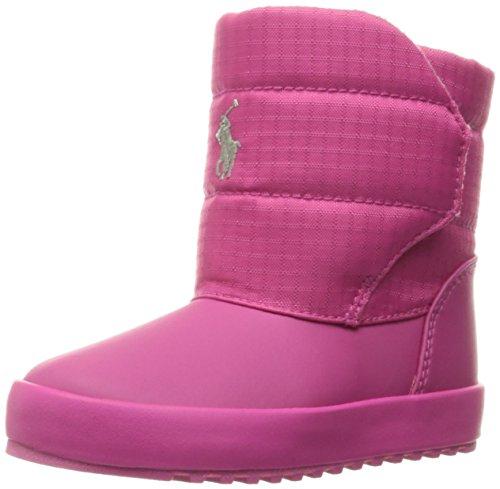 Polo Ralph Lauren Kids Girls' 993551 Snow Boot, Pink, 6 M US Toddler