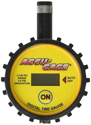 Accu Gage DT110 5 150PSI Digital Yellow