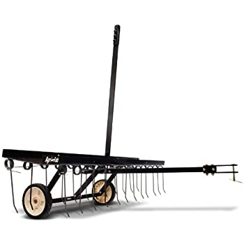 Amazon Com Agri Fab 40 Inch Tine Tow Dethatcher 45 0294 Lawn And