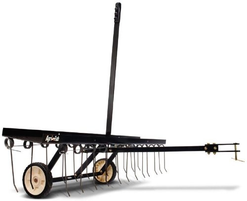 Agri-Fab 45-0295 48-Inch Tine Tow Dethatcher (Best Electric Lawn Scarifier)