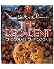 President's Choice The Decadent Cookies, Chocolate Chip, 350 Grams/12.35 Ounces - 2 Pack
