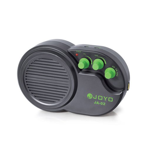 JOYO JA-02 3W Mini Electric Guitar Amp Amplifier Speaker with Volume Tone Distortion Control by JOYO