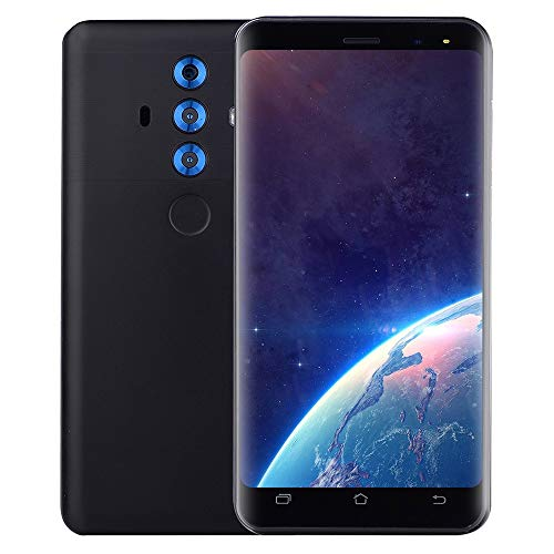 (Unlocked Smartphone  【5.0 inch Dual SIM Smartphone Android 6.0】 Full Screen GSM/WCDMA Touch Screen WiFi GPS 3G Call Mobile Phone New (Black))