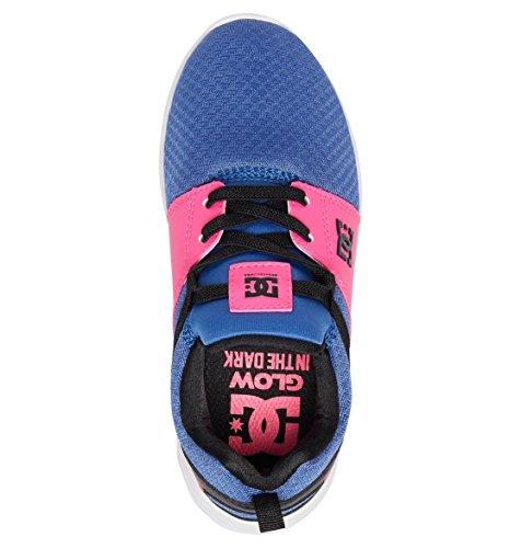 Dc Girls Chaussures Heathrow Se Bleu Rose Fw 2018-usk 12 Eur 29 Cm 18