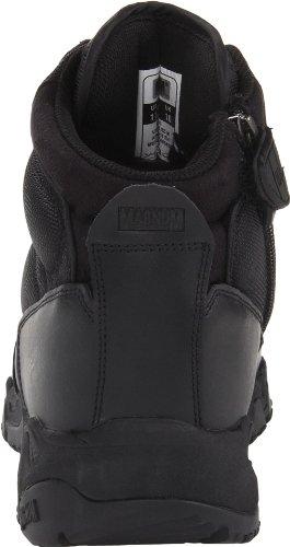 Magnum Mens Viper Pro 5 Side Zip Tactical Boot Black atUdFs