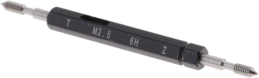 Schwarz M1.4 Gewinde-Grenzlehrdorn aus Schnellarbeitsstahl Gewindelehre Pr/üfwerkzeug