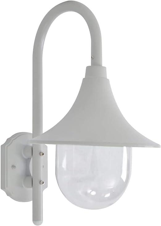 ghuanton Lámpara de Pared de jardín Aluminio Blanca E27 42 cmCasa y jardín Iluminación Lámparas Apliques de Pared: Amazon.es: Hogar
