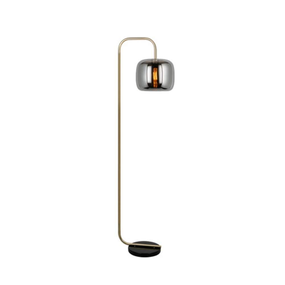 JDGK フロアランプリビングルームの寝室のベッドサイドシンプルでモダンなフロアランプ研究垂直フロアランプ照明 -9811フロアスタンドランプ B07QGK456Y