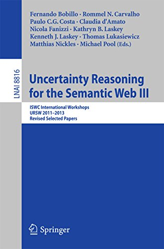 Download Uncertainty Reasoning for the Semantic Web III: ISWC International Workshops, URSW 2011-2013, Revised Selected Papers (Lecture Notes in Computer Science) Pdf