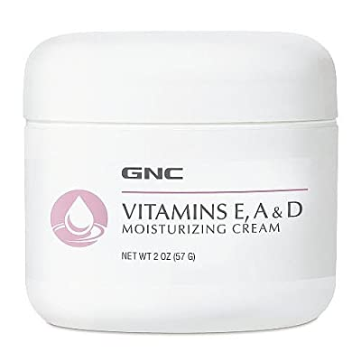 GNC Vitamins E, A D Moisturizing Cream 2 oz