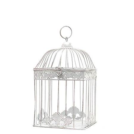 LORIGINALE DECO - Jaula para pájaros Cuadrada, Color Blanco ...