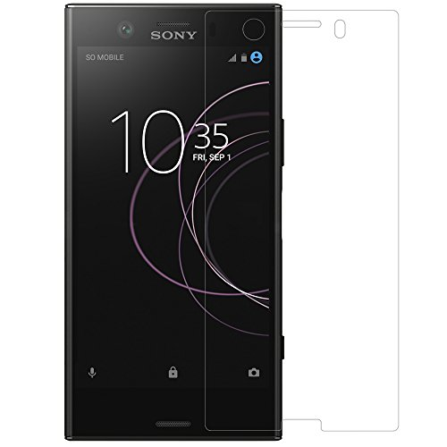 For Sony Xperia XZ1 Compact Screen Protector, Nillkin [H+ Pro] Tempered Glass 0.2mm 2.5D Round Edges Anti-glare High Clarity 9H Screen Hardness Anti-fingerprints Screen Protector (2.5D Tempered)
