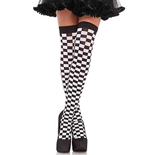 Leg Avenue Womens Checkerboard Thigh ()