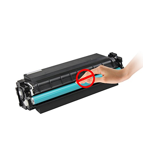 INK E-SALE Compatible HP 410X CF410X Black Toner Cartridge High Yield 6500 Pages for Used in HP Color LaserJet Pro MFP M477fdn M477fdw M477fnw,Pro M452dn M452nw M452dw Printers,1 Pack Photo #3