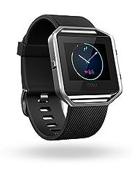 Fitbit Blaze Smart Fitness Watch, Black, Silver, Large (US Ve...
