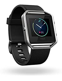 Blaze Smart Fitness Watch, Black, Silver, Large (US Version)