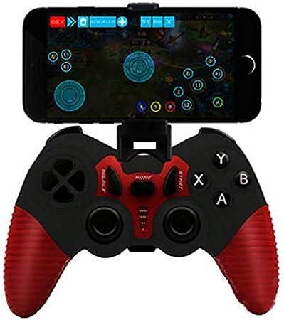 L&WB Controlador Inalámbrico Bluetooth Gamepad Joystick PC Compatible, PS3, Android, Decodificador, Smart TV, Etc,A: Amazon.es: Hogar