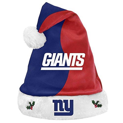 (Team Logo Christmas Holiday Santa Hat New York Giants)